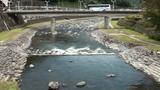 あじさい橋からの風景