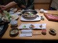 半個室の夕食