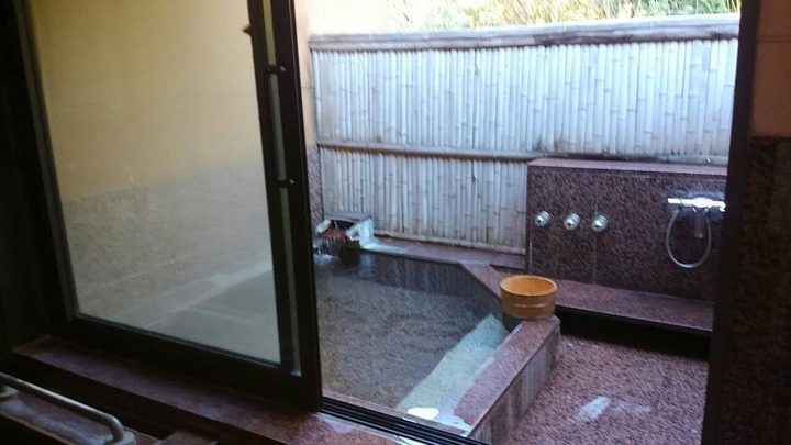 露店風呂付き客室