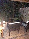 ガーデンスイート客室内
