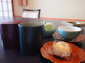 備え付けのお茶は2種類☆