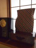 鏡台と時計