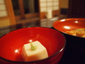 夕食:ごま豆腐