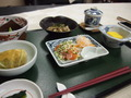 夕食の一部