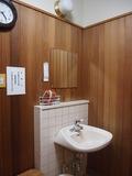 浴室の脱衣所