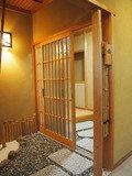 客室の入口