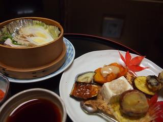 夕食(一部)