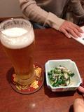 生ビール 写真です。