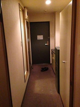 部屋ドア写真です。