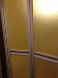 お風呂ドア写真です。