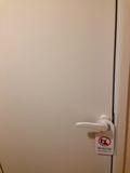 トイレ、バス ドア写真です。
