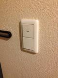 電気スイッチです。