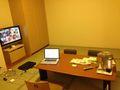 部屋はこんな感じですよ!