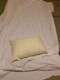 枕も自分で持ってきます。