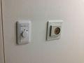 コインランドリー 室内 自動ライトです。