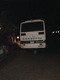 バスも出ております。