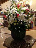1F におしゃれな花がありました!