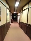 宴会場への廊下