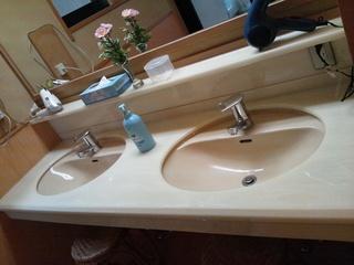 内湯洗面台