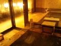 露天風呂から見た内湯