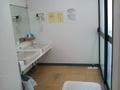 洗面所と浴室入口