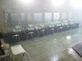 内湯オーロラの湯洗い場