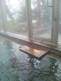 野天風呂出入り口