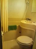 部屋のバス&トイレ