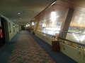 ロビーの上の廊下