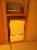 冷蔵庫&グラス&お箸