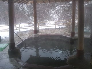 「信玄野天風呂」の露天風呂「潤肌の湯」