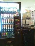 自販機とビールサーバー