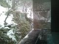 「湧泉」の「深山の湯」からの眺め