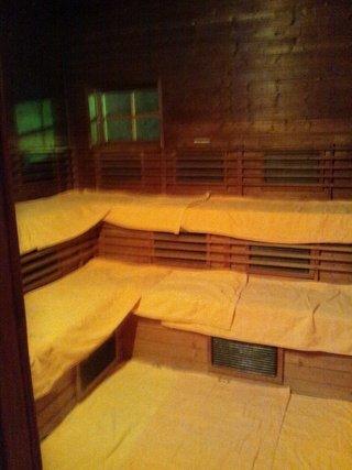「信玄野天風呂」サウナ小屋