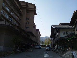 ホテル裏側