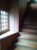 「牧水の湯」露天風呂への階段