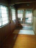 「牧水の湯」内湯の脱衣場から浴室への廊下