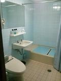 渓流側の部屋のお風呂