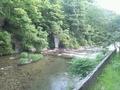 「夢殿」岩風呂の内湯からの眺め