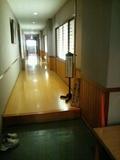 大浴場の廊下