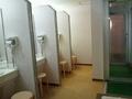 大浴場の脱衣場の洗面台
