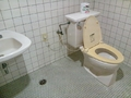 大浴場のトイレ