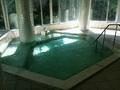 「夢殿」露天風呂の内湯
