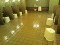 「おわらの湯」洗い場