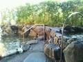 「曳山の湯」露天風呂