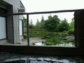 朝の露天風呂