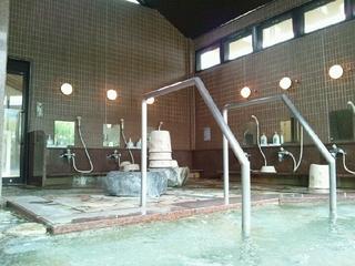 第三浴室(大浴槽)洗い場