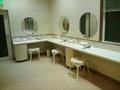 展望風呂「メルヘンの湯」の洗面台