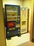 清山館の自販機コーナー