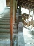 露天風呂「森のこだま」の階段